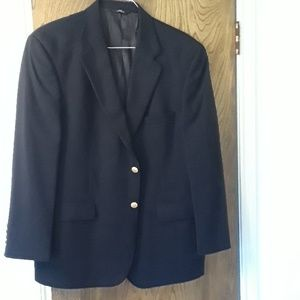 Brooks Brothers 346 men's navy blue blazer 42 SH